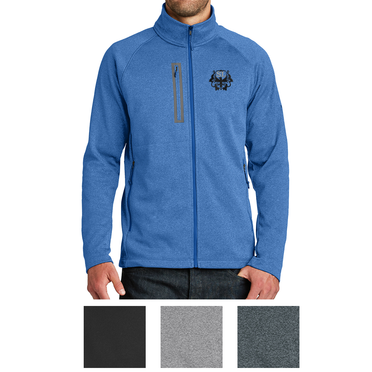 342d2f2ac3f8 NF0A3LH9 The North Face® Canyon Flats Fleece Jacket - Hit ...