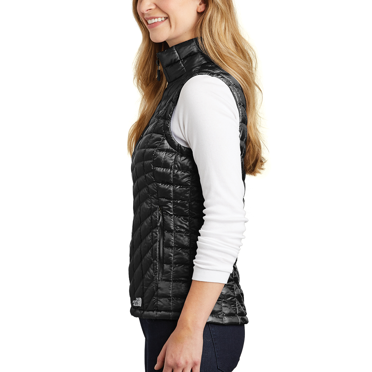 NF0A3LHL The North Face® - Ladies  ThermoBall™ Trekker Vest - Hit ... 5f67f2a91