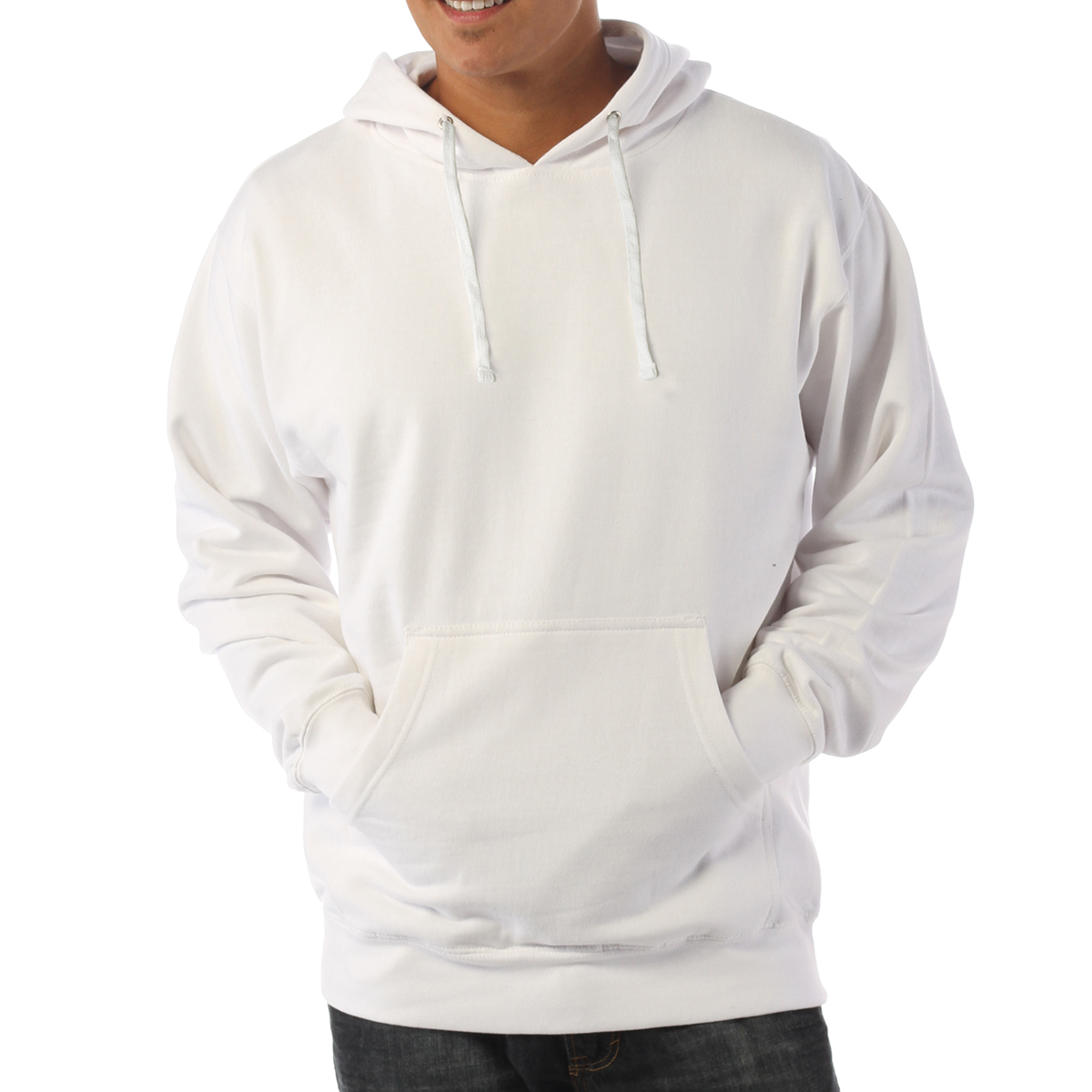 Independent Trading Co Midweight Hooded Pullover Sweatshirt SS4500 XS-3XL