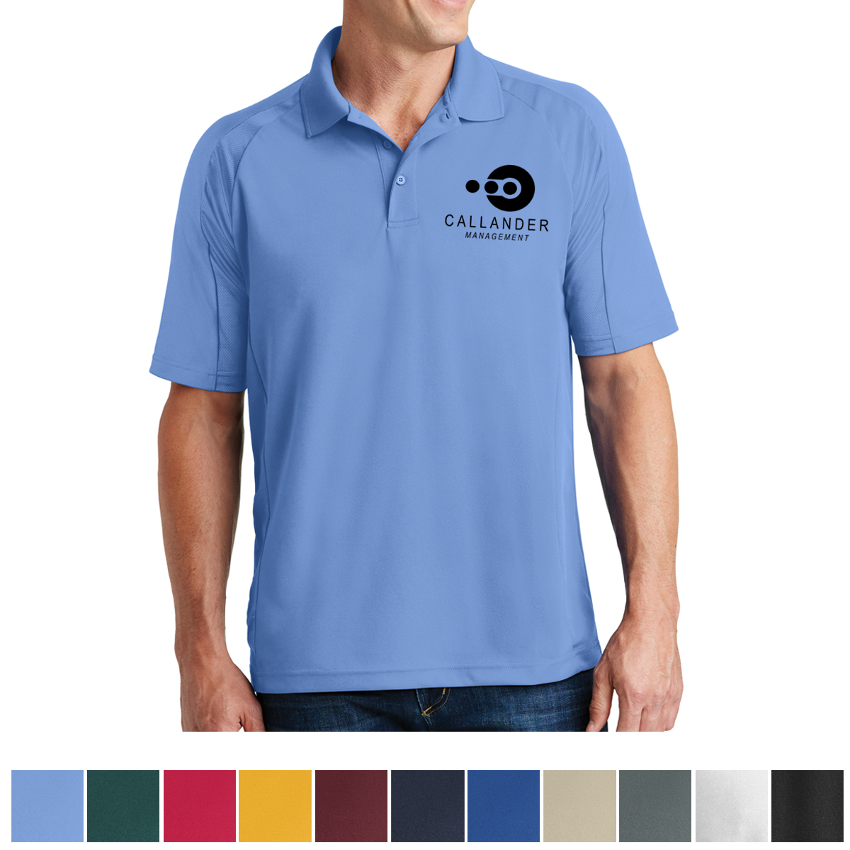 T474 Sport Tek Dri Mesh Pro Polo Hit Promotional Products